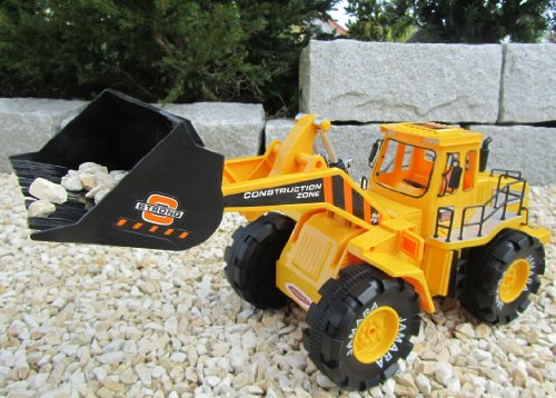 RC Baufahrzeug kaufen Baufahrzeug Bild 1: RC Bagger Radlader Jamara 1:10 Länge 32cm