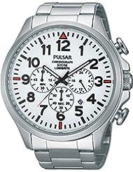 Pulsar Herren-Armbanduhr Analog Quarz Edelstahl PT3321X1