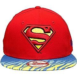 New Era 9Fifty gorra - ANIMAL Superman rojo