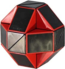 Shengshou Rubiks Snake Black and Red