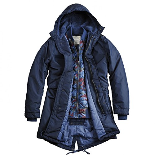 Alpha Industries Fishtail TT 2 in 1, Farbe:rep.blue;Größe:L