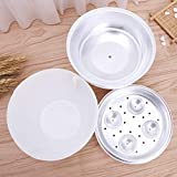 Ouken Microwave Egg Boiler Microwave Egg Cooker Mini Portable Quick Egg Cooking Cup Steamed Kitchen Tools for Breakfast