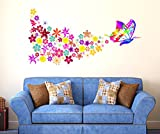 Decals Design 'Butterfly with Colorful F...