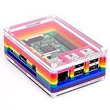 Rainbow Pibow 3 - das eleganteste, Add-on-freundlich, und Schutzgehäuse für den Raspberry Pi!
