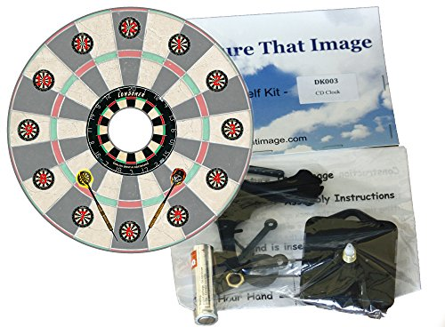 diy-cd-clock-kit-darts-with-dart-board-dial-with-numbers
