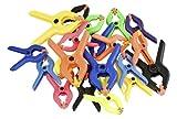 Einhell 49928290 - Pinzas de plástico, 22 piezas, 4 x 50 mm, 18 x 40 mm