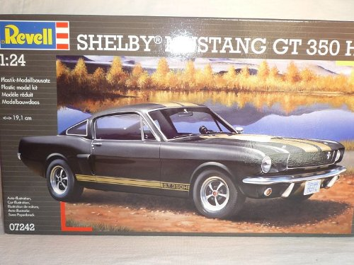 Shelby Mustang Ford Gt350 GT 350 H Basis Eleanor 07242 Bausatz Kit 1/24 Revell Modellauto Modell Auto (Modell-auto-kits Ford Mustang)