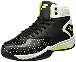 Fila Mens Legacy Black Basketball Shoes - 6 UK/India (40 EU)(11005561)