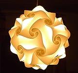 3er Set Puzzle-Hängelampe LAMPADA ROMANTICA 1x Größe S ca. 20cm, 1x Größe M ca. 27cm, 1x Größe L ca. 35cm, MADE IN ITALY