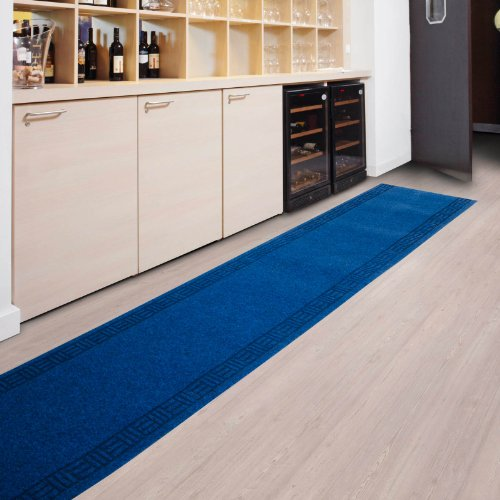 Kitchen Runner - 9 sizes available - Blue - 66x1000cm