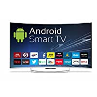 Cello C55ANSMT 55-Inch 4K Android Smart LED Curve Screen TV with Wi-Fi and Freeview T2 HD