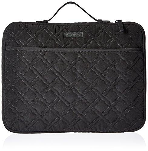 Vera Bradley Laptop Organizer Messenger Bag Tasche schwarz klassisches schwarz Einheitsgröße (Reise-tasche Von Vera Bradley)