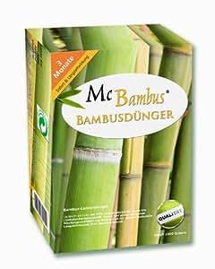 mcbambus bambus d nger mit langzeitwirkung 3 kg. Black Bedroom Furniture Sets. Home Design Ideas