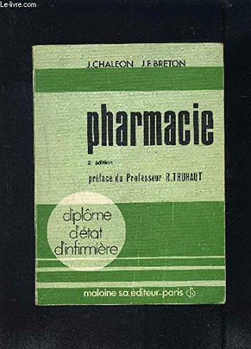 Pharmacie (Diplôme d'État d'infirmière)