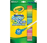 Enlarge toy image: Crayola 50 Washable Supertips -  preschool activity for young kids