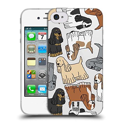 Head Case Designs Cocker Spaniel Modelle Hunde Rassen 7 Soft Gel Hülle für Apple iPhone 6 / 6s Cocker Spaniel