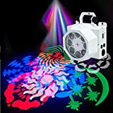 LED PAR Licht Disco PA Lichteffekte 8 RGB Stroboskop DJ Musikgesteuert Scheinwerfer La-Cakus Bühnenbeleuchtung Discokugel Partylicht Ball Light für Partei, Feier, Bar, Weihnachten, Hochzeit
