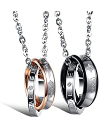 collier homme couple
