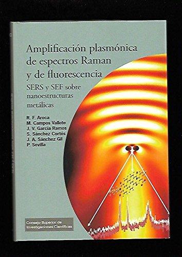 Amplificación plasmónica de espectros Raman y de fluorescencia: SERS y SEF sobre nanoestructuras metálicas (Textos Universitarios) por Ricardo F. Aroca Muñoz