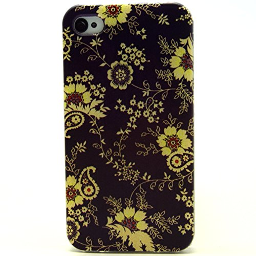 ZeWoo TPU Schutzhülle - L018 / Gänseblümchen - für Apple iPhone 4 4G 4S Silikon Hülle Case Cover L018 / Gänseblümchen