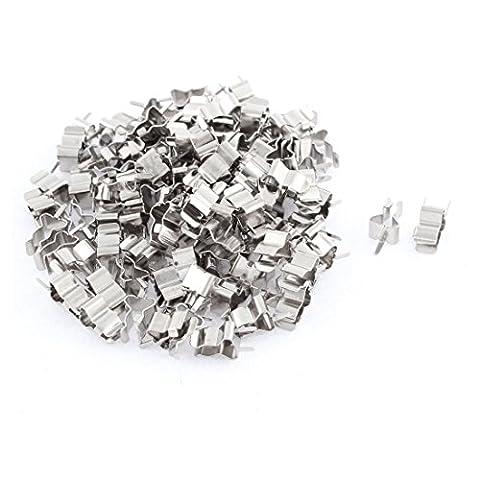 sourcingmap® 100Stk 5 x 20mm Glas Keramikrohr schnell Schlag Sicherungshalter
