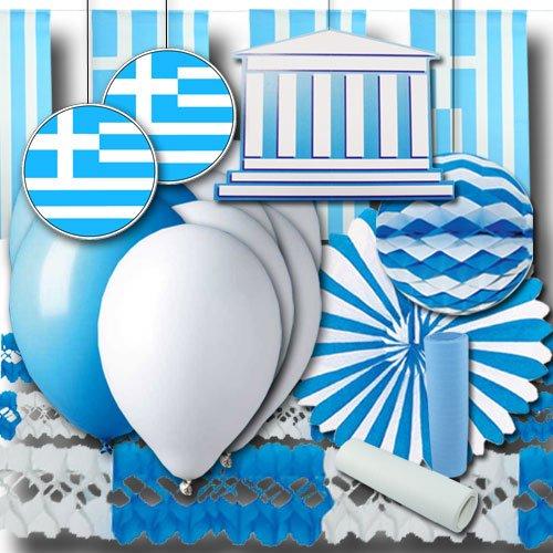 Preisvergleich Produktbild Griechenland Partydeko Set Grundausstattung