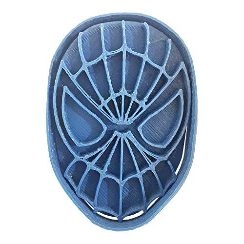 Cuticuter Superhelden Spiderman Ausstechform, Blau, 8x 7x 1.5cm