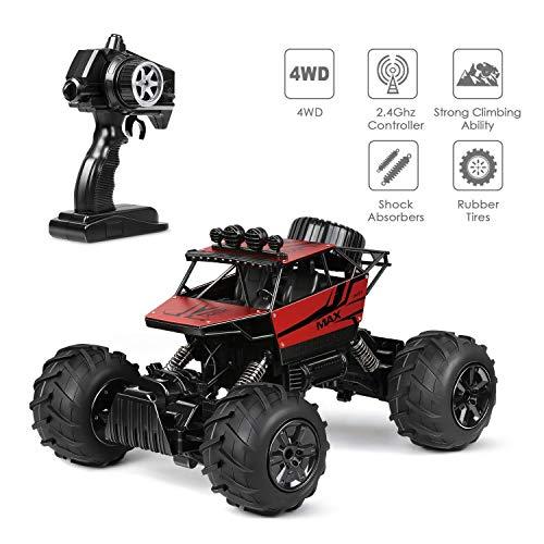 INTEY Ferngesteuertes Auto, RC Auto 1:12 Skala 2,4 GHz RC Buggy Auto Ferngesteuert 4WD 50M Entfernung ferngesteuert für Erwachsene und Kinder, mädchen und Junge