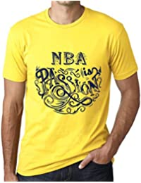 One in the City Hombre Camiseta Gráfico T-Shirt NBA Is Passion Amarillo