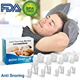 Dispositifs Anti Ronflement, Anti Ronflement Nez Vents Anti Ronflement Solution Snore Stopper Dilatateurs Nasaux Sommeil et Ronflements Advanced Snore Sommeil pour les Hommes Femmes Enfants