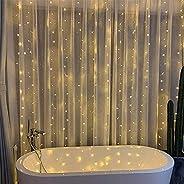 سلسلة مصابيح للزينة، مصابيح من ارابيست، 300 مصباح قياس 9.8* 9.8 قدم لتزيين الغرفة، يمكن استخدامها في الكريسماس