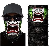 BJ Global Magic diadema multifunción Seamless Cap cuello máscara de tubo de la bufanda diadema Headwrap diadema magia Bufanda Calentador de deporte de esquí equitación cara bufanda