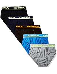 RUPA Frontline Men's Cotton Brief (Pack of 5) (Colors May Vary)