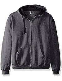 Fruit of the Loom Men's Full-Zip Hooded Sweatshirt - Extra Sizes