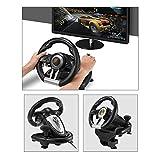 Gereton Treibende Kraft Rennrad und Pedale, Unterstützung PC / PS3 / PS4 / X-ONE Computer-Spiel Lenkrad Simulation für Racing Fahrsimulation Fahrschule Auto