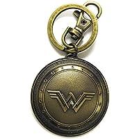 DC Comics Batman vs. Superman Wonder Woman Shield Llavero