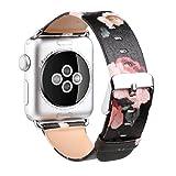 Bracelet Apple Watch 38mm,Xihuan Sports et Fashion Bracelet en Cuir Véritable Pour...