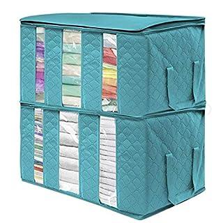 damnef Kleidung Decke Aufbewahrungstasche Organizer Box Pouch Garderobe Organizer Schrankordnungssysteme