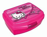 Contenitore per il pranzo Hello KittyDimensioni: ca. (L x A x P) 15x 7x 11cmCaratteristiche:In plasticaFacile da chiudere e aprireContenuto della confezione: 1X contenitore per il pranzo