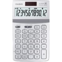 CASIO JW-200TW WE calcolatrice da tavolo -Display a 12 cifre, struttura in metallo di colore bianco - Confronta prezzi