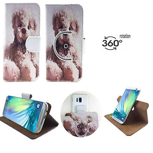 Handy Schutz Hülle | für Allview X3 Soul Lite | 360° Drehbare Funcktion |- 360° Nano M Bär 1