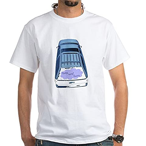 CafePress - Long Roof Lover Station Wagon T-Shirt - 100% Cotton T-Shirt