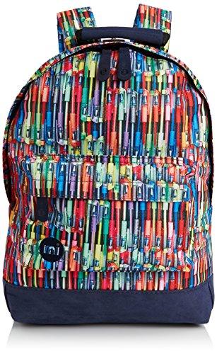 Mi-Pac Mini, Mochila Infantil, 33 cm, 10.5 Litros, Pens Rainbow