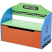 Preisvergleich für 3 in 1 Spielzeugtruhe Aufbewahrungsbox Spielzeugkiste Spielzeugbox Truhenbank