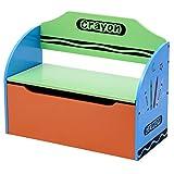 3 in 1 Spielzeugtruhe Aufbewahrungsbox Spielzeugkiste Spielzeugbox Truhenbank