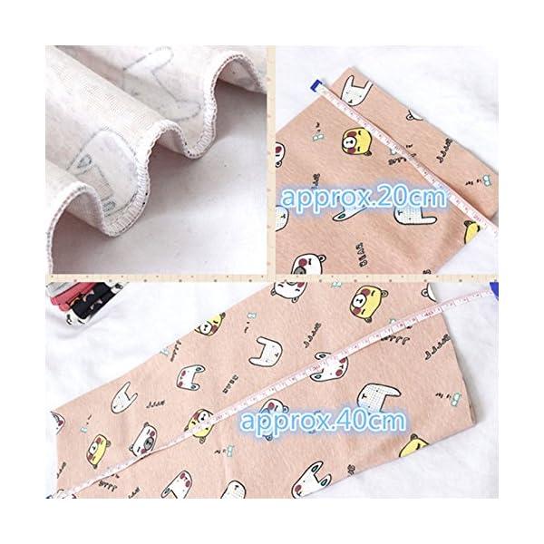 VI. yo gato pañuelo de los niños dibujos animados niños niñas niños algodón cuello bufandas Multi uso calentador de… 5