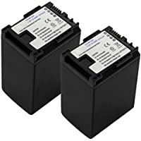 2x CELLONIC® Batería premium para Canon LEGRIA HF G25, HF G30, HF G10, XA10 XA20, LEGRIA FS200 (2670mAh) BP-820,BP-828 bateria de repuesto, pila reemplazo, sustitución
