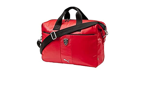 26ee4aca3f Puma Ferrari LS Weekender (073157 02) (Rosso Corsa   Black)  Amazon.co.uk   Clothing