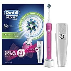 Oral-B Pro 750 Elektrische Zahnbürste