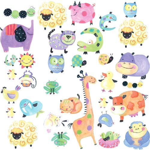 roommates-repositionable-childrens-wall-stickers-polka-dot-piggy